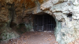 A mine or cave