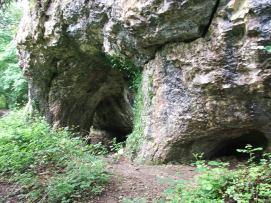 King Arthur's Cave.