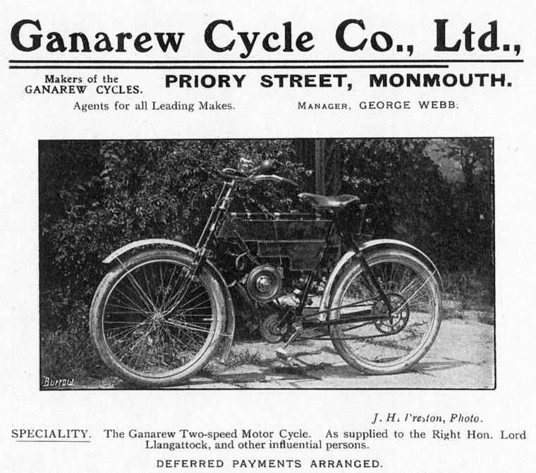 the ganarew motorcycle