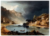 An An 18th century artist's impression of New Wier.