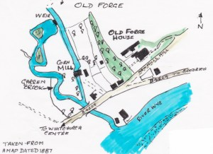 Whitchurch Old Forge map