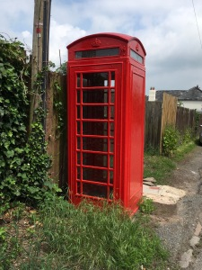 Crockers Ash phone box June 2018