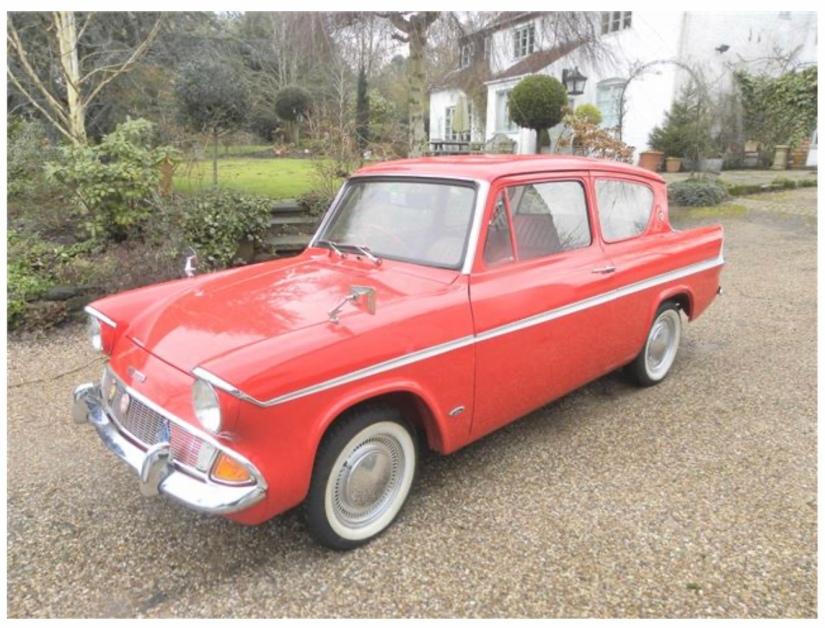 1965 Ford Anglia 105E